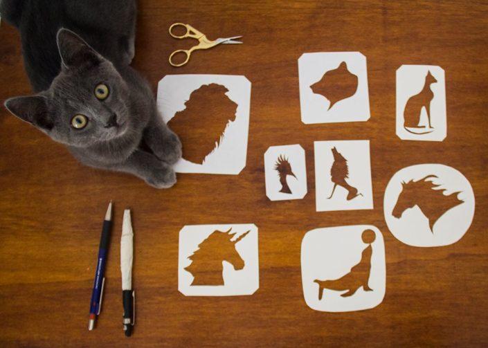 Morena Fortino - Strumenti del papercutting